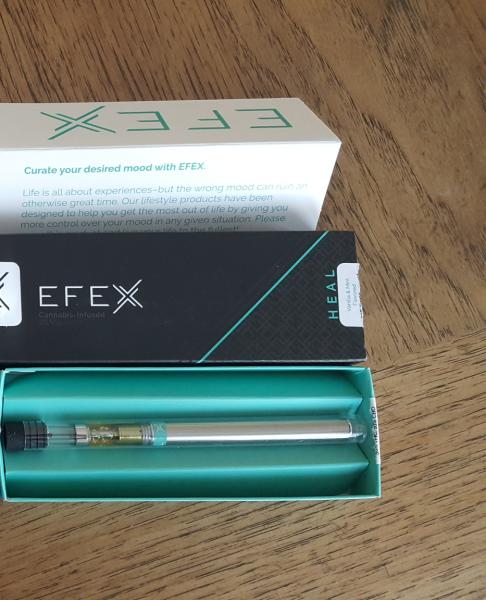 efex heal disposable vape