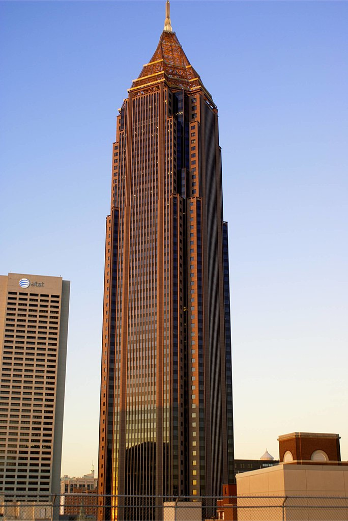 highest place in atlanta tallest building
