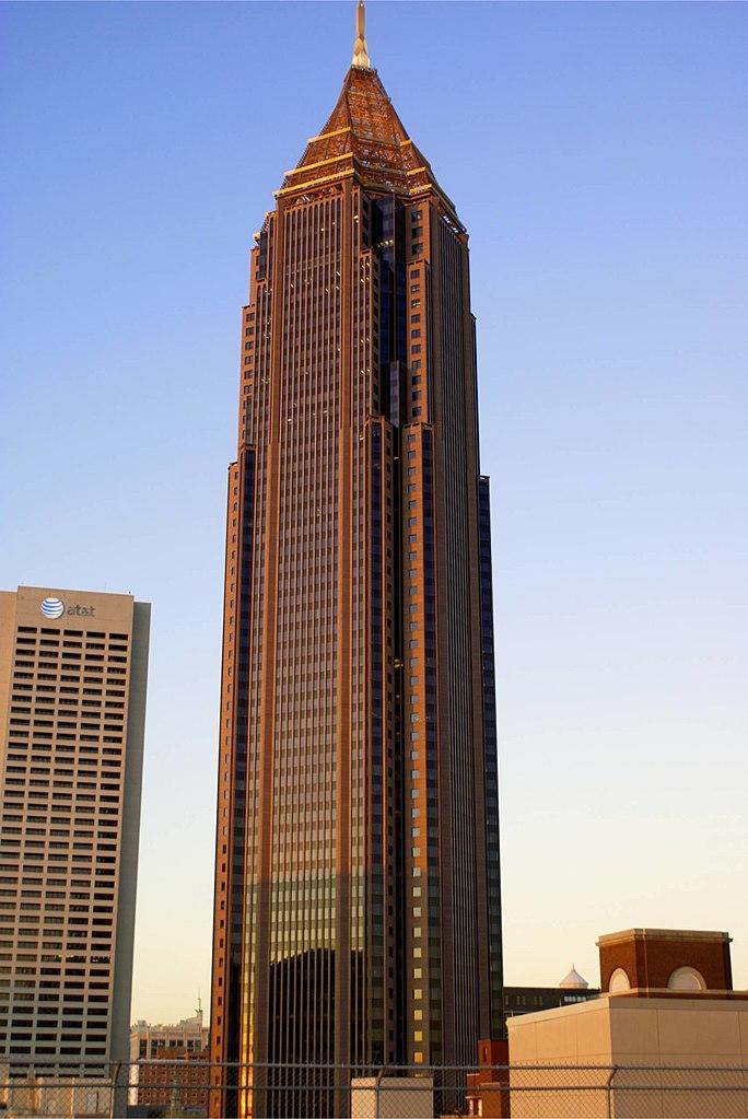 highest place in atlanta tallest building