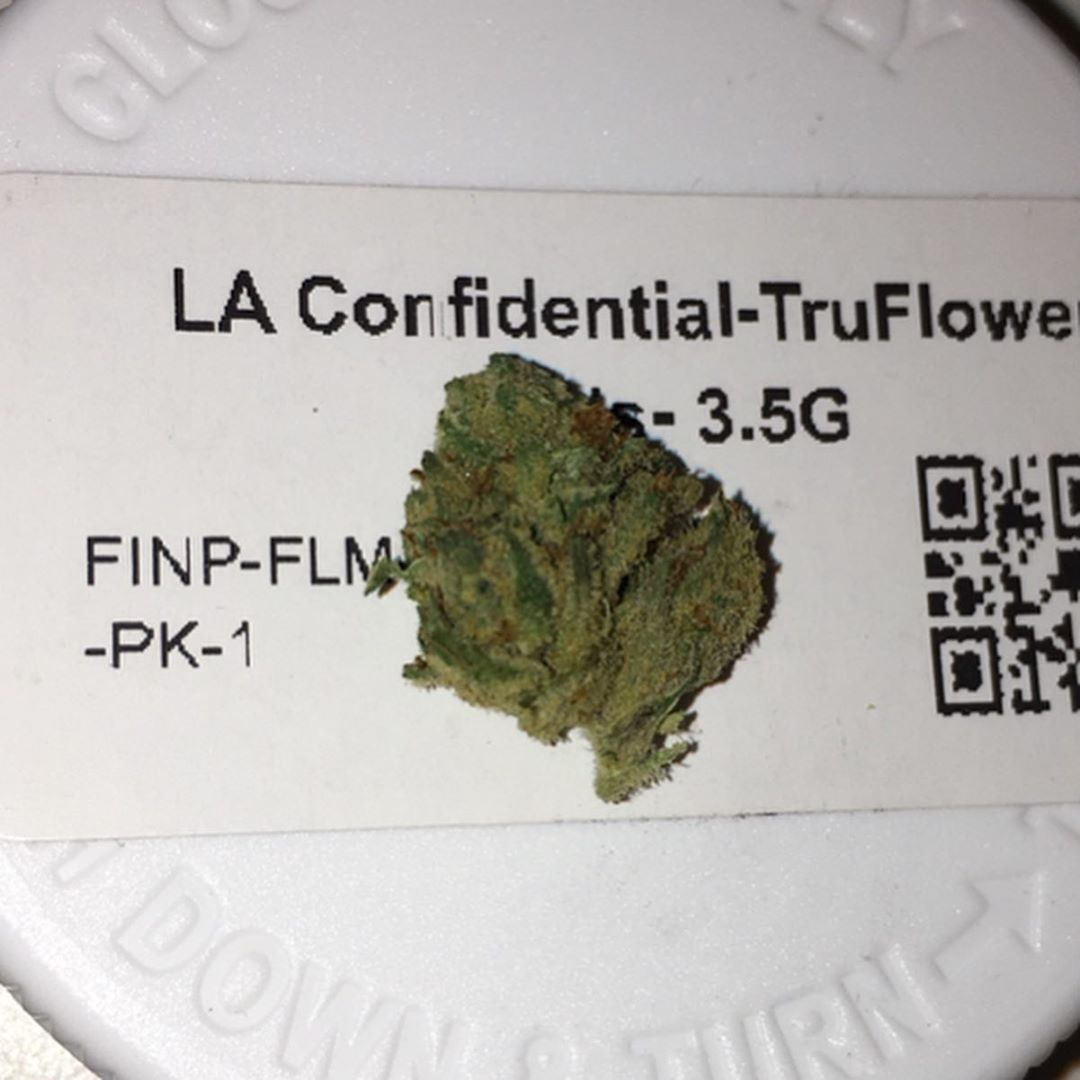 la confidential truflower from trulieve strain review by indicadam