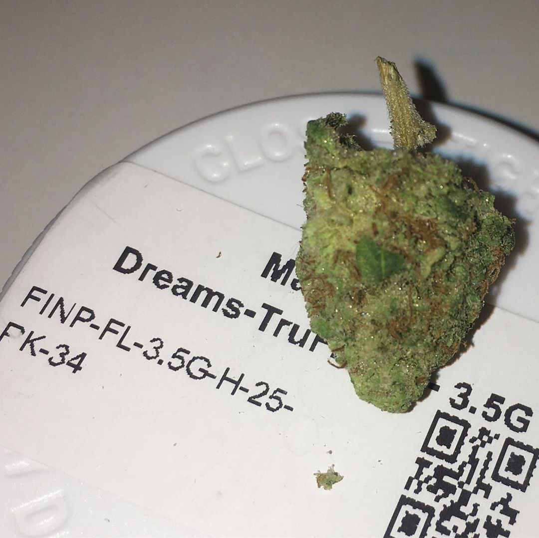 mandarin dreams from trulieve strain review by indicadam