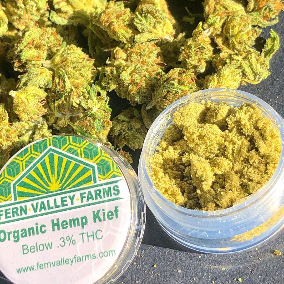 organic hemp kief by fernvalleycbd cbd kief review by consciouscloudscbd