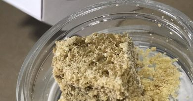 8 ball kush crumble by pts concentrate review by nightmare_ro 1