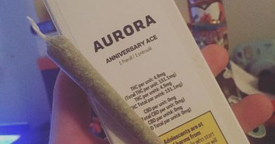 anniversary ace by aurora preroll strain review by thecoughingwalrus