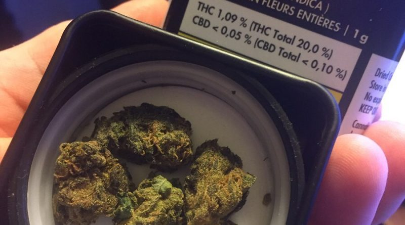 bakerstreet by tweed farms strain review by thecoughingwalrus