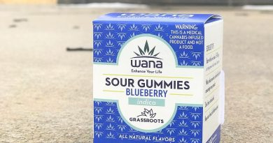 blueberry wana gummies by grassroots edibles review by nightmare_ro