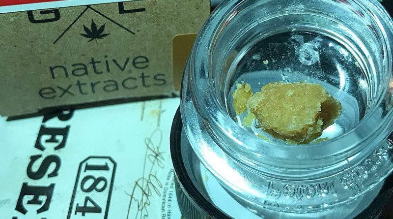 mag landrace wax by goldleaf native extracts concentrate review by nightmare_ro from greenhouse