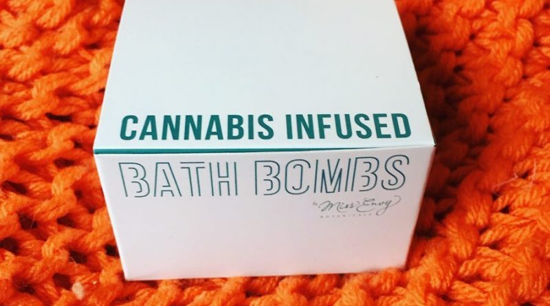 miss envy botanicals cannabis infused bath bombs review by thecoughingwalrus