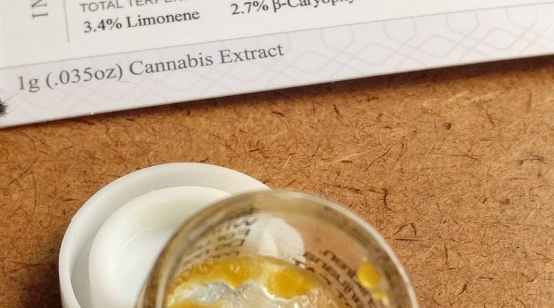 white tahoe cookies cured resin by dab society extracts total cannabinoid content by pdxstoneman