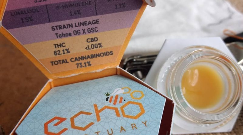 white tahoe cookies live budder by echo electuary concetrate review by pdxstoneman 2