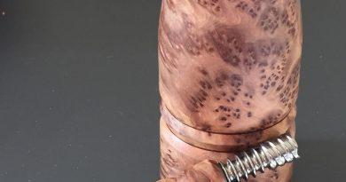 woodscents custom dynavap log vape by ed's tnt vape review by jean_roulin_420