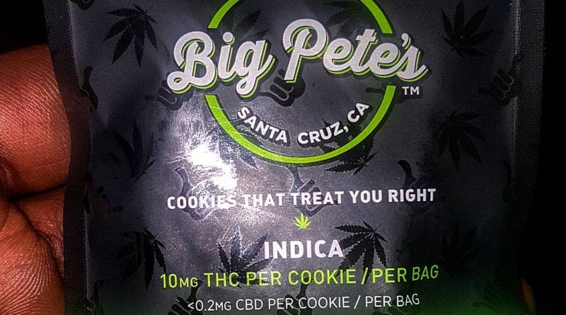 big pete's chocolate chip cookie edible review by sjweedreview
