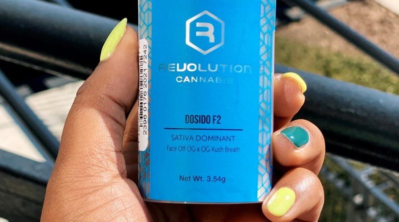 dosido f2 by revolution cannabis strain review by upinsmokesession 2