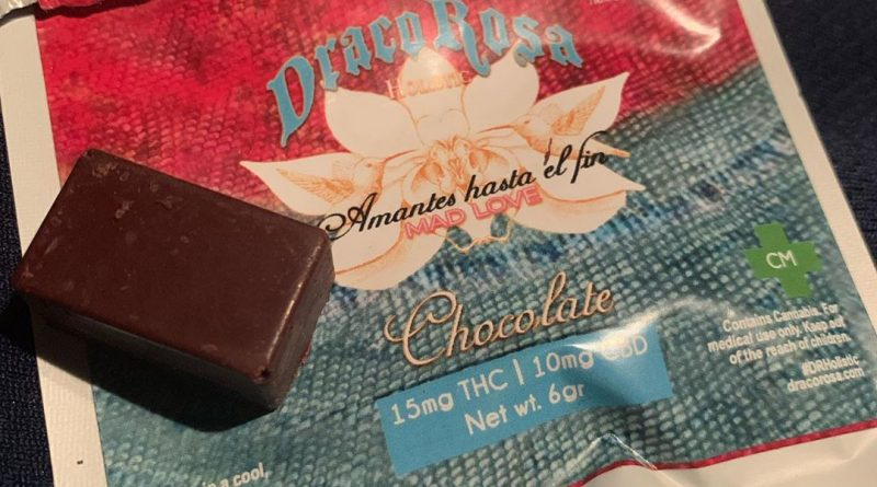 draco rosa mad love choco bites edible review by trippietropical
