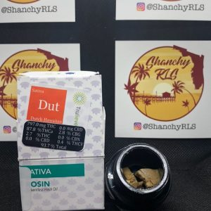 dutch hawaiian rosin by blue river terps concentrate review by shanchyrls
