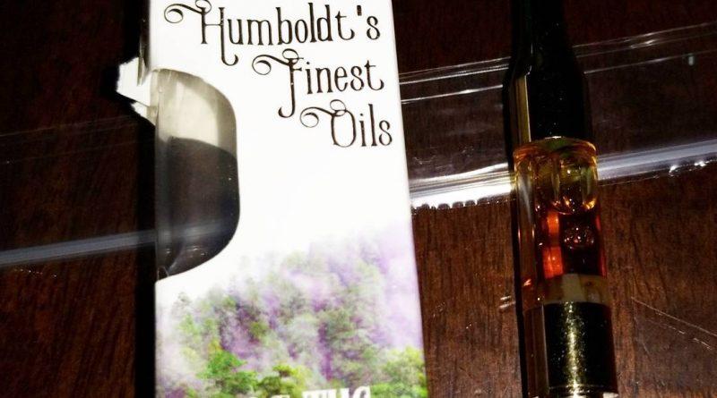 gorilla glue cartridge by humboldt's finest oils vape review by sticky_haze420