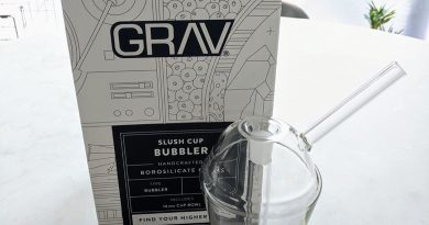 grav labs slush cup bubbler glass review by upinsmokesession