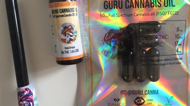 guru cannabis oil rso concentrate review by jean_roulin_420