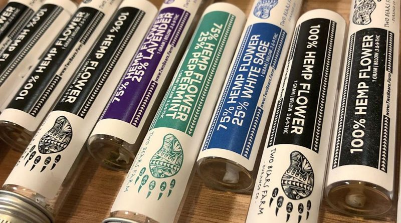 hemp flower prerolls by two bears hemp cbd review by consciouscloudscbd