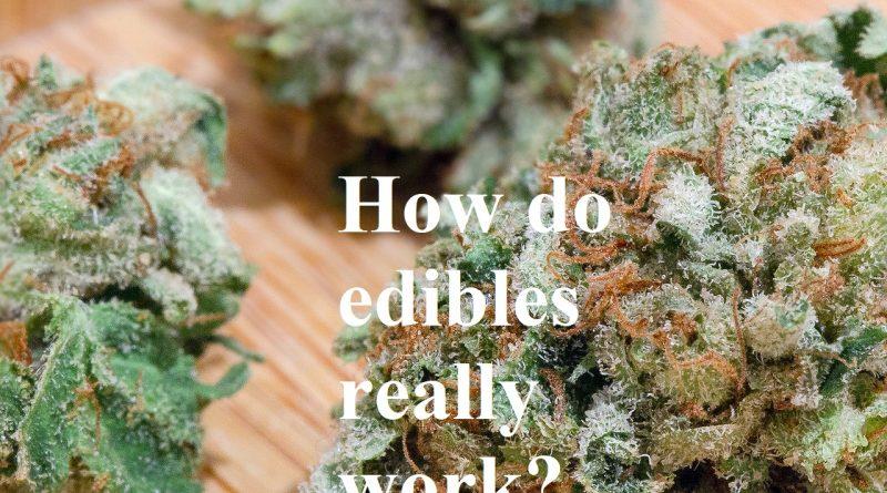 how do edibles really work