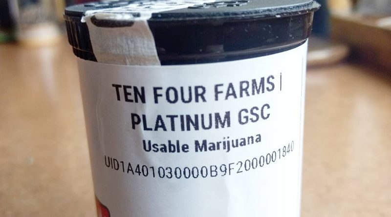 platinum gsc by ten four farms strain review by pdxstoneman 2