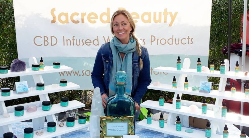 sacred beauty cbd infused women's products review