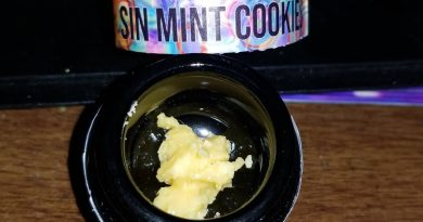 sin mint cookies badder by pearl pharma concentrate review by sticky_haze420