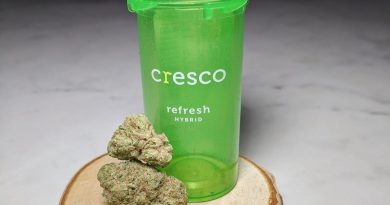 wedding crasher by cresco cannabis strain review by upinsmokesession