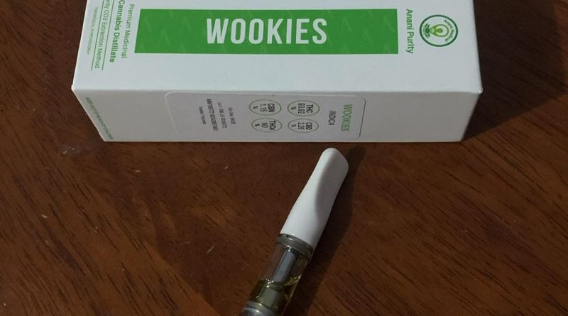 wookies cartridge by anani medical pharmaceuticals vape review by trippietropical