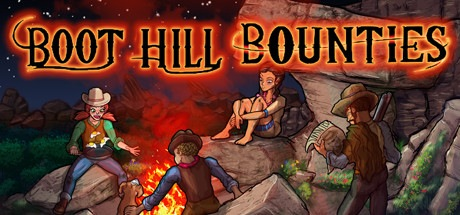 boot hill bounties review - follow kid, roxy, moon, and doc on their journey