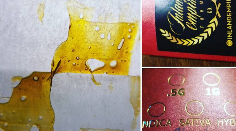ghost og shatter by inland empire farms concentrate review by sticky_haze420