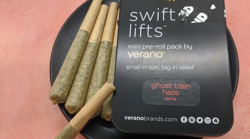 ghost train haze pre-rolls by swift lifts pre-roll review by upinsmokesession