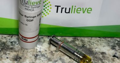 granddaddy purple distillate from trulieve concentrate review by sticky_haze420