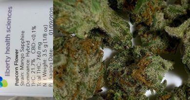 papa's herb mango sapphire from liberty health sciences strain review by sticky_haze420