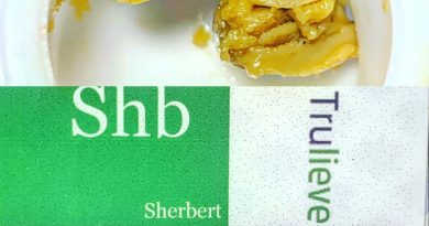 sherbert live rosin by blue river terps concentrate review by sticky_haze420