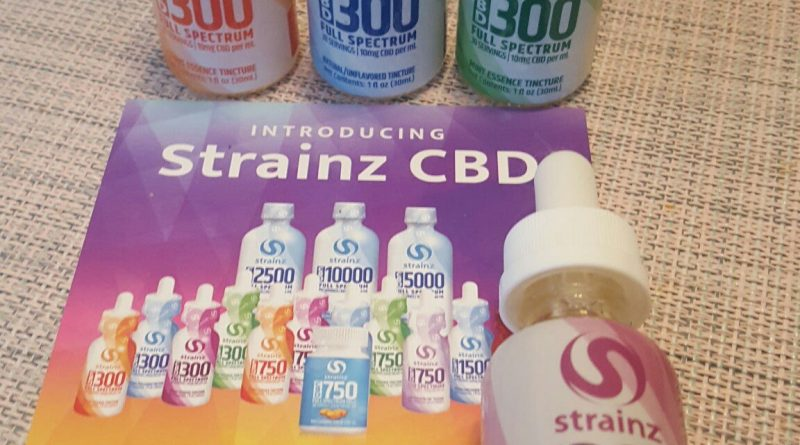 strainz berry essence 300 cbd full spectrum tincture review