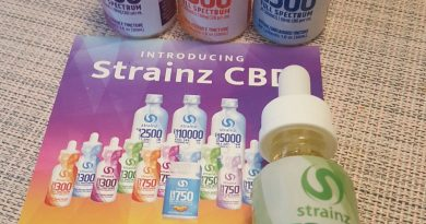 strainz mint essence 300 cbd full spectrum tincture review