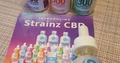 strainz natural unflavored 300 cbd full spectrum tincture review