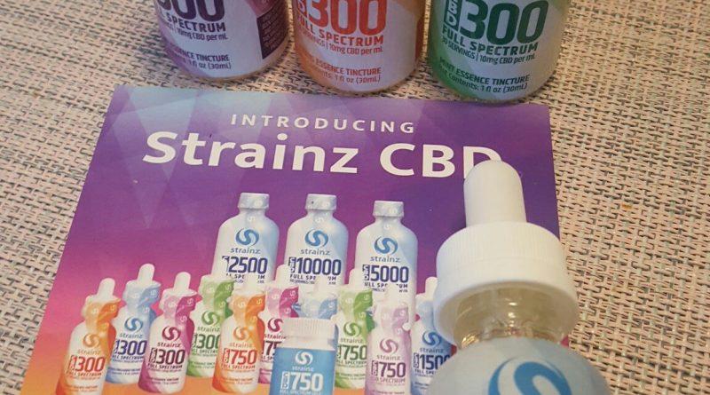 strainz natural unflavored 300 cbd full spectrum tincture review