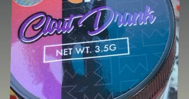 clout drank by clout king strain review by sjweedreview