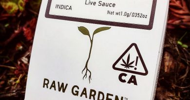 fire og live sauce by raw gardens concentrate review by herbtwist