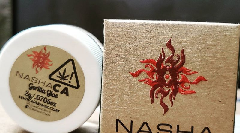 gorilla glue ice hash by nasha extracts concentrate review by herbtwist