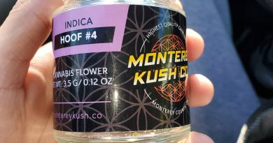 hoof 4 by monterey kush co strain review by hall.of.flamez