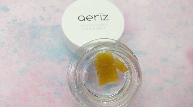 ice cream cake budder by aeriz concentrate review by upinsmokesession