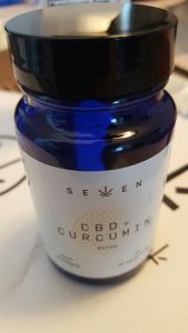 seven wellness cbd+curcumin capsules review