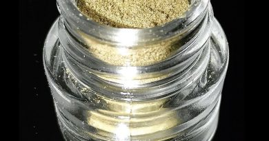 slurricane kief from tree life dispensary concentate review by okcannacritic