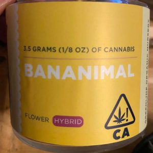 bananimal by Greenline Organics strain review by trunorcal420 2