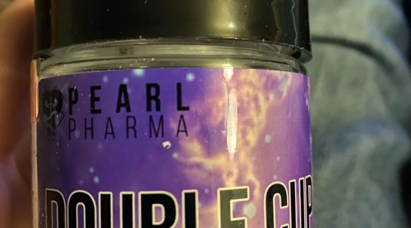 double cup by pearl pharma strain review by trunorcal420