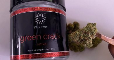 green crack by reserve by verano strain review by upinsmokesession
