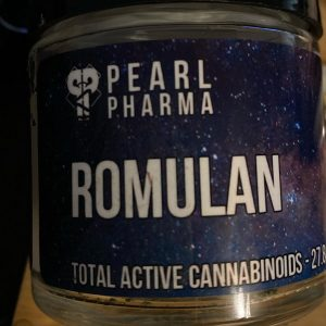 romulan by pearl pharma strain review by trunorcal420 2